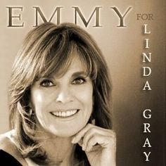 Emmy for Linda Gray Dancing With The Starts, Dallas Tv Show, Linda Gray, America's Got Talent, Hollywood Walk Of Fame, New Series, Favorite Tv Shows, Grey, People