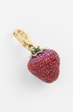 Juicy Couture Strawberry Charm available at #Nordstrom