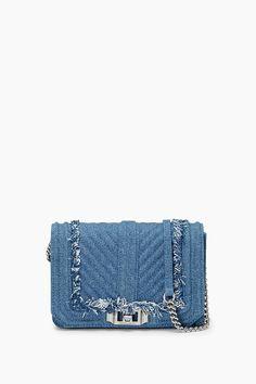 REBECCA MINKOFF SMALL LOVE CROSSBODY. #rebeccaminkoff #bags #shoulder bags #leather #crossbody #lining #