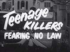 Teenage Killers