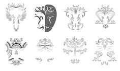 Dragon Age Inquisition Dalish tattoos