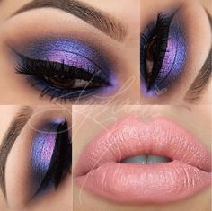 Love these electric colors especially the purple!!