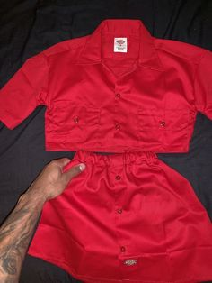 Please allow weeks before the item is shipped and delivered. All Dickie pieces are made to order. Swag Outfits, Mode Outfits, Grunge Outfits, Girl Outfits, Diy Clothing, Sewing Clothes, Custom Clothes, Diy Fashion, Fashion Outfits