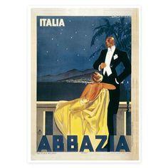 Classic Travel - Italy, Art Print