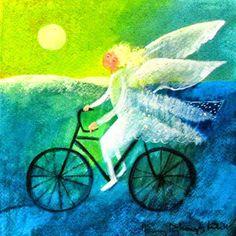Mi Universar: El ángel y su bicicleta (Décima espinela 11)