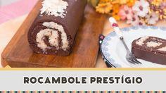Rocambole de Chocolate com Beijinho - Receitas de Minuto #198
