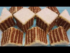 Prajitura fara coacere cu biscuiti si crema de lapte si cocos (foarte simpla) - YouTube Food Cakes, Easy Peasy, Tiramisu, Biscuit, Brownies, Cake Recipes, Picnic, Sweets, Cookies