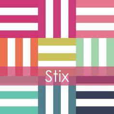 Image of Stix Mini Quilt #109, PDF Pattern