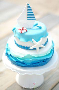 """Kessy's Pink Sugar: """"Schiffchen Ahoi"""" Torte"""