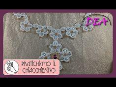 15°Tutoria di Chiacchierino ad Ago: Le perline tra i nodi. - YouTube