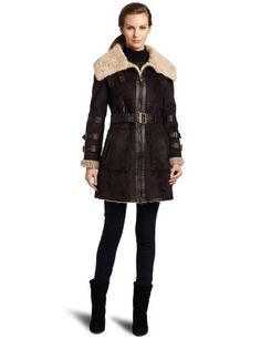 Shearling coats are so on trend this season.      CheapHawke & Co Women's Faux Fur Shearling Coat, Cocoa, Large Hawke & Co, http://www.amazon.com/dp/B005KJ3A62/ref=cm_sw_r_pi_dp_NZrtqb0ZGJS0Q