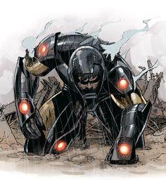 Iron Man by Adam Kubert