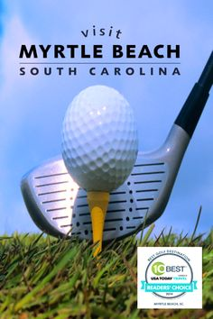 Your Myrtle Beach golf vacation will feature some of the world's most scenic and challenging courses. Play along the Intracoastal Waterway or with views of the Atlantic Ocean on greens designed by greats like Arnold Palmer, Greg Norman, and Jack Nicklaus. Myrtle Beach Golf, Myrtle Beach South Carolina, Public Golf Courses, Jack Nicklaus, Famous Architects, Long Tee, Group Travel, Galveston, Golf Ball