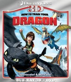 Amazon.com: How to Train Your Dragon (Two-Disc Blu-ray 3D/DVD Combo): How to Train Your Dragon: Movies & TV