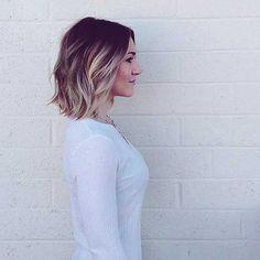 Blonde Ombre Hair Short