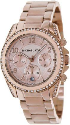 Michael Kors Women's MK5263 Blair Rose Gold-Tone Watch:Amazon:Watches