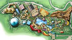 ADLABS Imagica! Theme Park, India Designed By Attractions-International Ltd. #themepark# #planning#