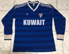 RARE Kuwait 1980 Soccer Jersey Football Shirt M | Etsy Retro Football Shirts, Color Calibration, I Shop, Soccer, Mens Tops, Shopping, Etsy, Fashion, Moda