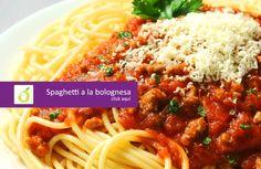 Spaghetti a la bolognesa