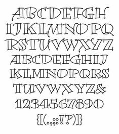 Magnificent Artistic Letters Of The Alphabet Creative Hand Lettering Alphabets Lettering Brush, Hand Lettering Alphabet, Doodle Lettering, Creative Lettering, Calligraphy Letters, Lettering Design, Typography, Lettering Tutorial, Block Lettering