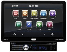 """SOUND STORM SD10.1B Single-DIN 10.1 inch Detachable Touchscreen DVD Player, Receiver, Bluetooth, Detachable Front Panel, Wireless Remote - Rock the highway with the Sound Storm SD10.1B Single-DIN DVD Player with 10.1"""" Touchscreen Monitor. Slide in a CD/DVD, connect your Smartphone or MP3 Player through the Auxiliary Input or plug into the USB and SD ports and watch the miles slip away with your favorite music. Bluetooth technology l..."""