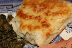 yummmm, good ole southern comfort of cast iron skillet bread.  so easy and full of lick smackin goodness.