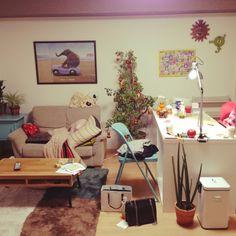 tomoさんの、二人暮らし,部屋全体,のお部屋写真