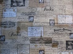 Fat Quarters, Vintage World Maps, Photo Wall, Fabrics, Frame, Home Decor, Tejidos