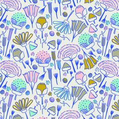 Floral © Black Lamb Studio Colorful and cute floral pattern design