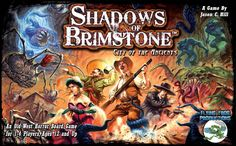 Contemporary Manufacture 180349: New Shadows Of Brimstone: City Of The Ancients Board Game -> BUY IT NOW ONLY: $119.99 on eBay!