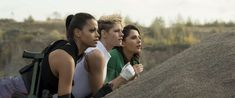 The first images for the upcoming Charlie's Angels film have been revealed, giving us a look at Kristen Stewart, Naomi Scott and Ella Balinska in the Elizabeth Banks-directed film. Kristen Stewart, Patrick Stewart, Naomi Scott, Lucy Liu, Elizabeth Banks, Drew Barrymore, Cameron Diaz, Entertainment Weekly, Charlie's Angels Trailer