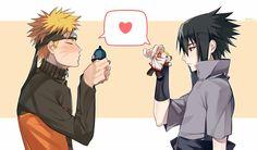 Naruto / Sasuke / Sasunaru Naruto Shippuden Sasuke, Sasunaru, Anime Naruto, Naruto Comic, Naruto And Sasuke Kiss, Naruto Cute, Narusaku, Itachi, Anime Manga