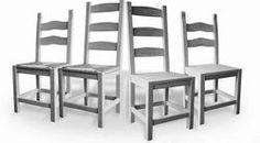 Beautiful shaker style chairs from www.pinefarmhousetable.co.uk