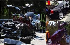 Super Cars In Super Crashes. 9 Of The Most Expensive Car Accidents Ever Recorded. Super Cars In Super Crashes. 9 Of The Most Expensive Car Accidents Ever Recorded. A multi-million dollar car means a hefty repair bill when you crash it. Most Expensive Car, Car Crash, Car Ins, Luxury Cars, Super Cars, Mercedes Benz, Antique Cars, The Incredibles, Vehicles
