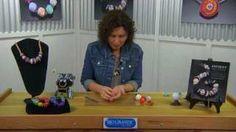 How to Make Polymer Clay Beads with Ronna Sarvas Weltman, via YouTube.