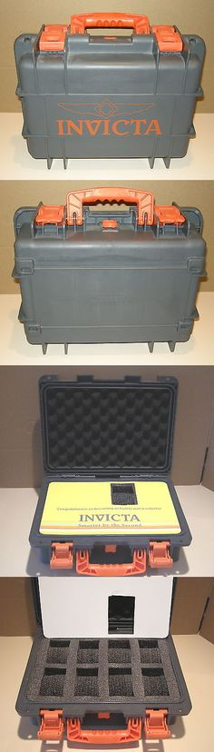 Watch 168164: Invicta Ig0098 8 Slot Gray Plastic Watch Box Case -> BUY IT NOW ONLY: $55 on eBay!