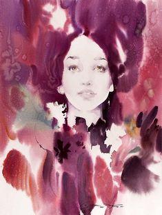Slawa-Prischedko-watercolour-portrait-3 (528x700, 381Kb)