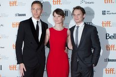 Tom Hiddleston, Mia Wasikowska and Anton Yelchin #tiff13