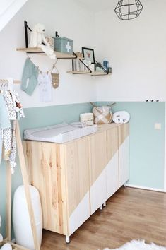 Baby room colors blue gender neutral 17 ideas for 2019 Baby room colors blue gender neutral … Babyzimmer Farben blau … Baby Boy Rooms, Baby Bedroom, Baby Room Decor, Kids Bedroom, Room Kids, Ikea Baby Room, Baby Room Colors, Baby Room Diy, Diy Baby