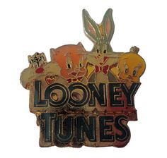 """LOONEY TUNES GANG vintage enamel pin lapel brooch cartoon Bugs Bunny Tweety Bird Sylvester Porky Pig by VintageTrafficUSA  14.00 USD  A vintage Tweety pin Excellent condition. Measures: less than 1"""" 20 years old hard to find vintage high-quality lapel/pin. Add inspiration to your handbag tie jacket backpack hat or wall. Have some individuality = some flair! -------------------------------------------- SECOND ITEM SHIPS FREE IN USA!!! LOW SHIPPING OUTSIDE USA!! VISIT MY STORE FOR MORE…"""