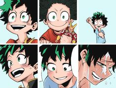 trash-with-pride:  appreciation post  midoriyas smile