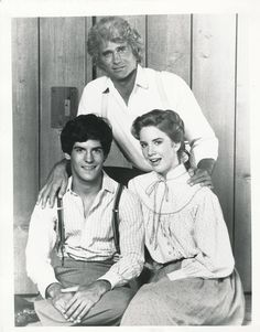 Pa, Albert, and Laura (Little House on the Prairie)