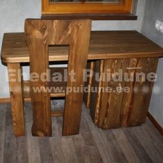 Kirjutuslaud servamata lauast Sauna House, Table, Inspiration, Furniture, Home Decor, Biblical Inspiration, Decoration Home, Room Decor, Tables