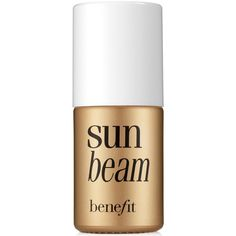 Benefit Cosmetics Sun Beam Highlighter (1,730 INR) ❤ liked on Polyvore featuring beauty products, makeup, cheek makeup, cheek bronzer, beauty, fillers, cosmetics, bronzer and no color