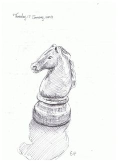 Day 64. Chess piece