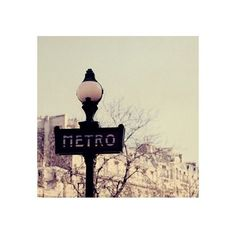 metro- original signed fine art photograph : product : papernstitch ($35) ❤ liked on Polyvore