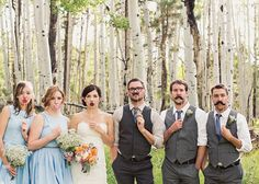 Bride, groom + bridal party | Arizona Bride Magazine