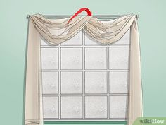 How to Drape Window Scarves. A window scarf, smartly hung, can highlight an entire room. Use a window scarf to cover up a curtain rod, or install scarf hooks to hang a window. Scarf Curtains, Cool Curtains, Hanging Curtains, Living Room Drapes, Window Treatments Living Room, Window Swags, Window Coverings, Sheer Curtain Panels, Panel Curtains