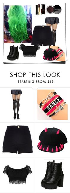 """""""Untitled #70"""" by miley11-732 on Polyvore featuring River Island, Miss Selfridge, Chanel, women's clothing, women, female, woman, misses and juniors"""