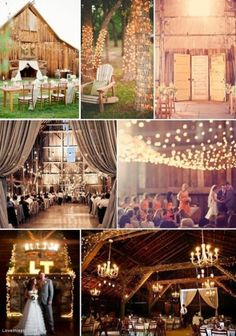 barn weddings - obsessed. I remember going to barm parties as a kid, & I loved just hanging out in our own barn. so magical & simply perfect.